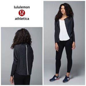 Lululemon After Class cardigan - black heather